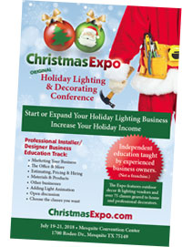 Christmas Expo is now offering classes for lighting installers