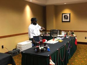 Chef Joe Patrick at Christmas Expo 2018